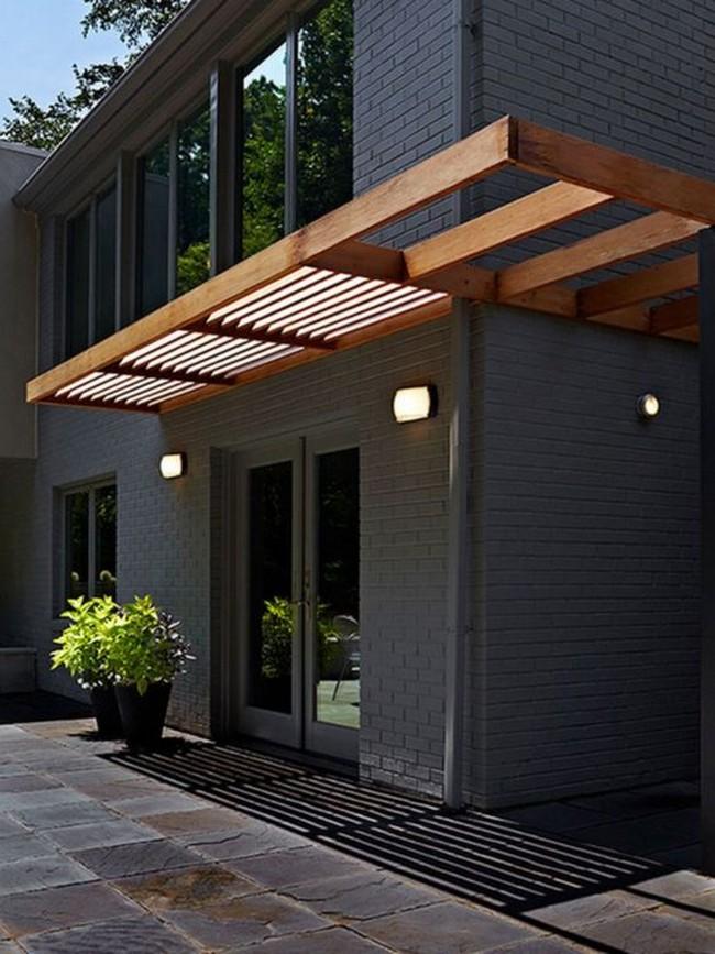 дизайн входа в частный дом снаружи