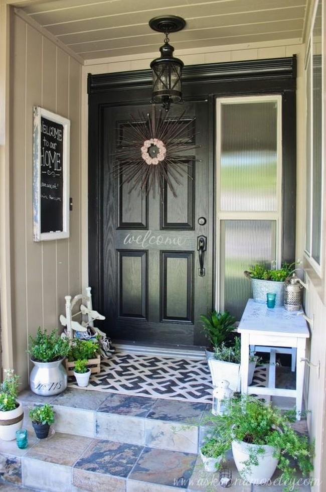 дизайн порожек входа в дом