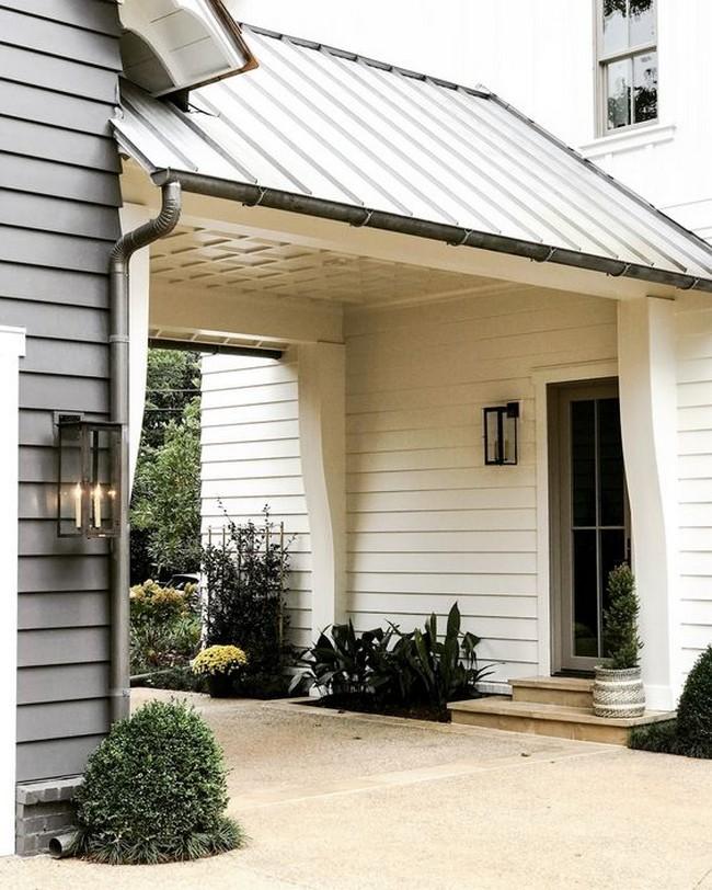 дизайн входа в дом снаружи