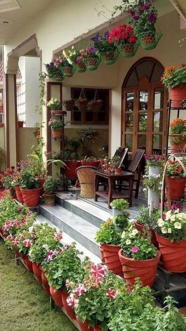 дизайн входа в дом на даче