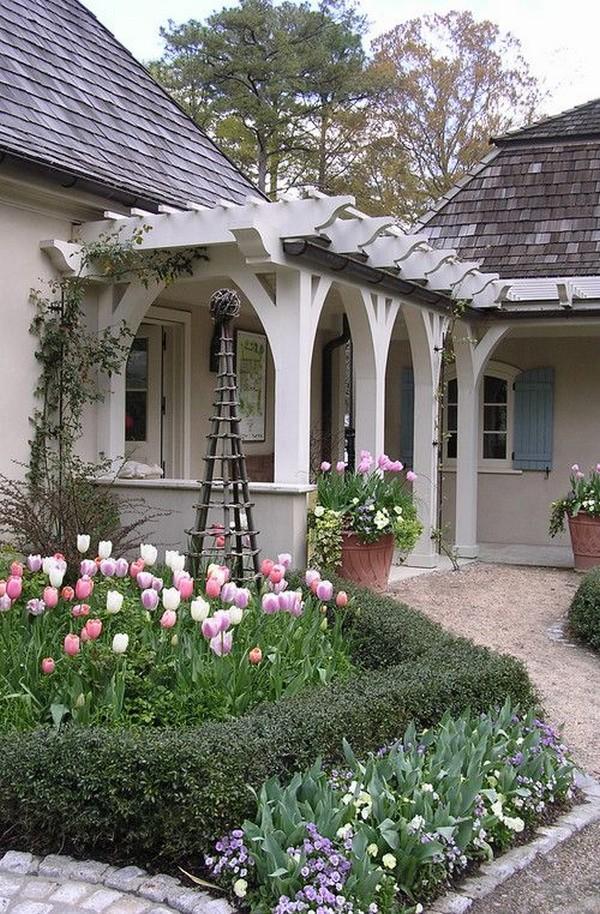 дизайна двора небольшого дома