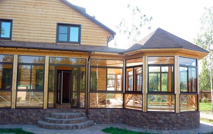 дизайн пристройки к дому
