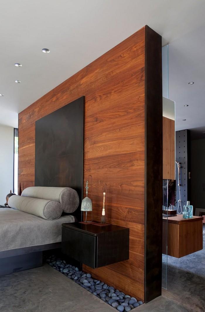 отделка деревом интерьера частного дома