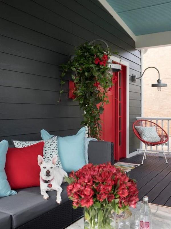 красивый дизайн входа в дом