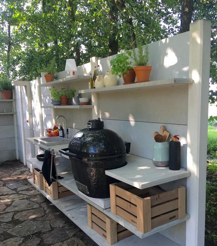 летняя кухня с тандыром