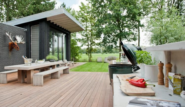 летняя кухня для дома