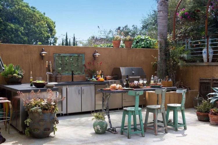 оформление летней кухни