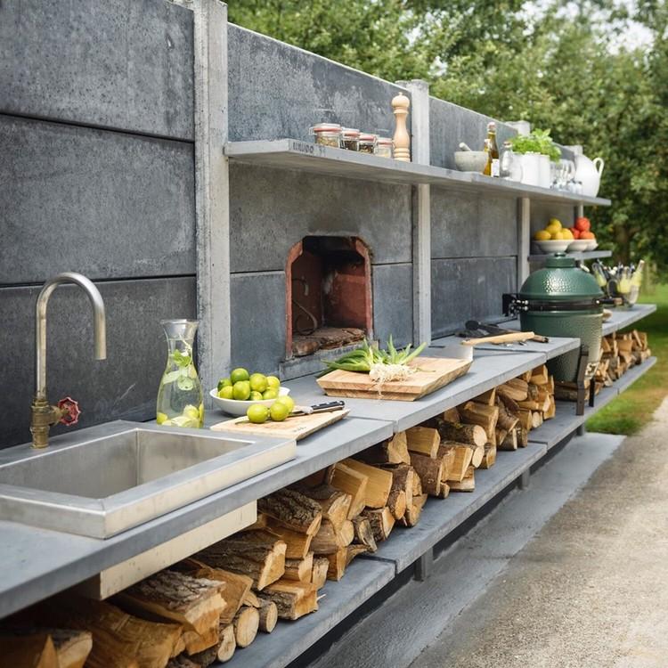 садовая летняя кухня