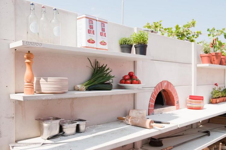 летняя кухня мангальная