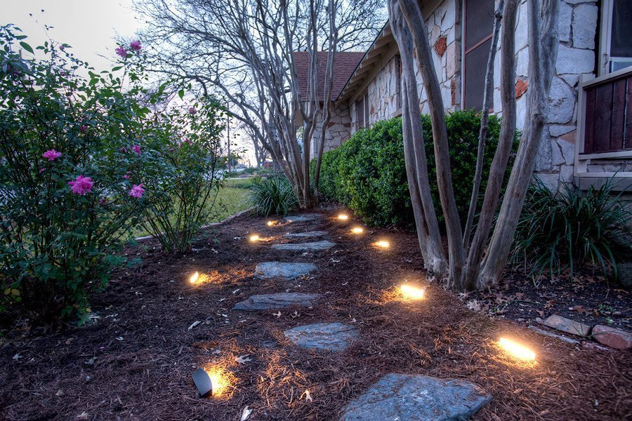 освещение загородного участка