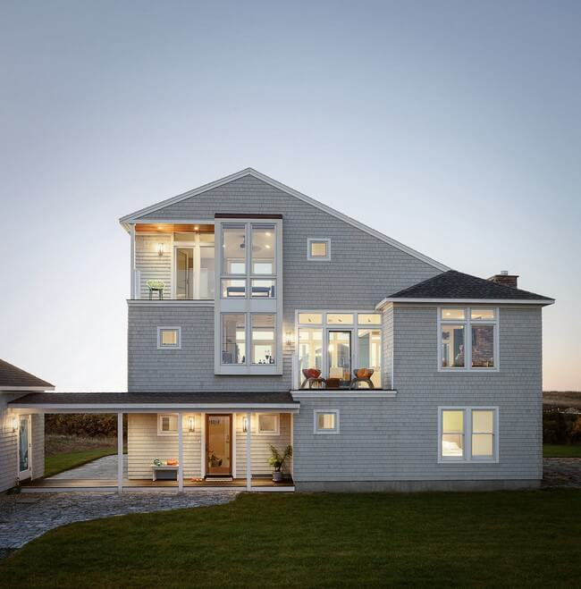 дом с мансардным этажом