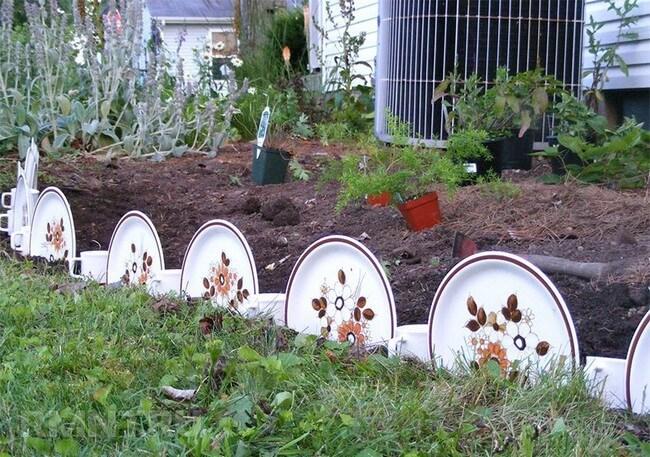 садовый бордюр своими руками
