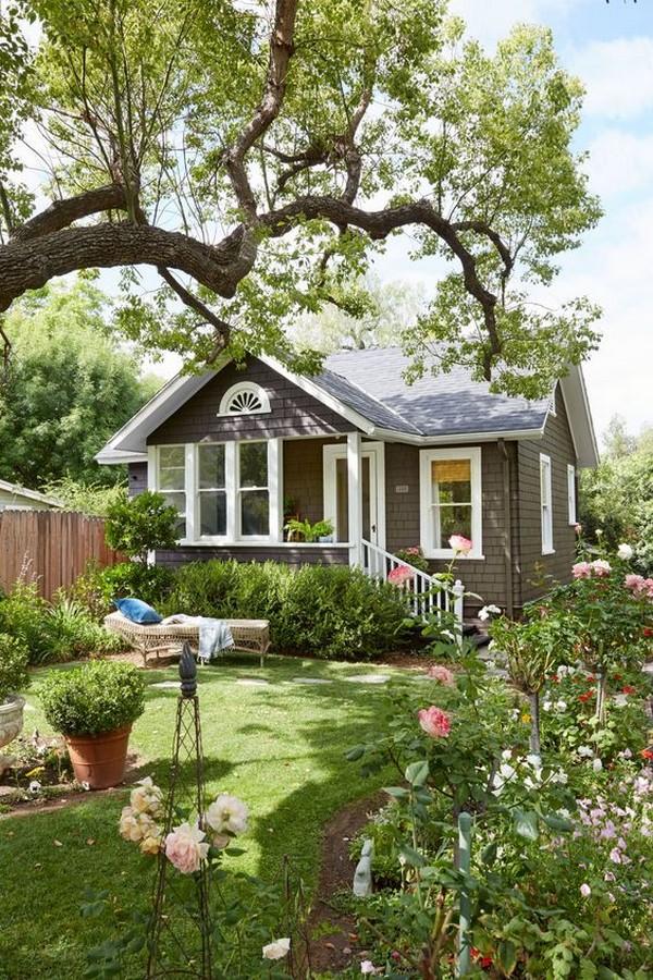 дизайн зоны отдыха в саду