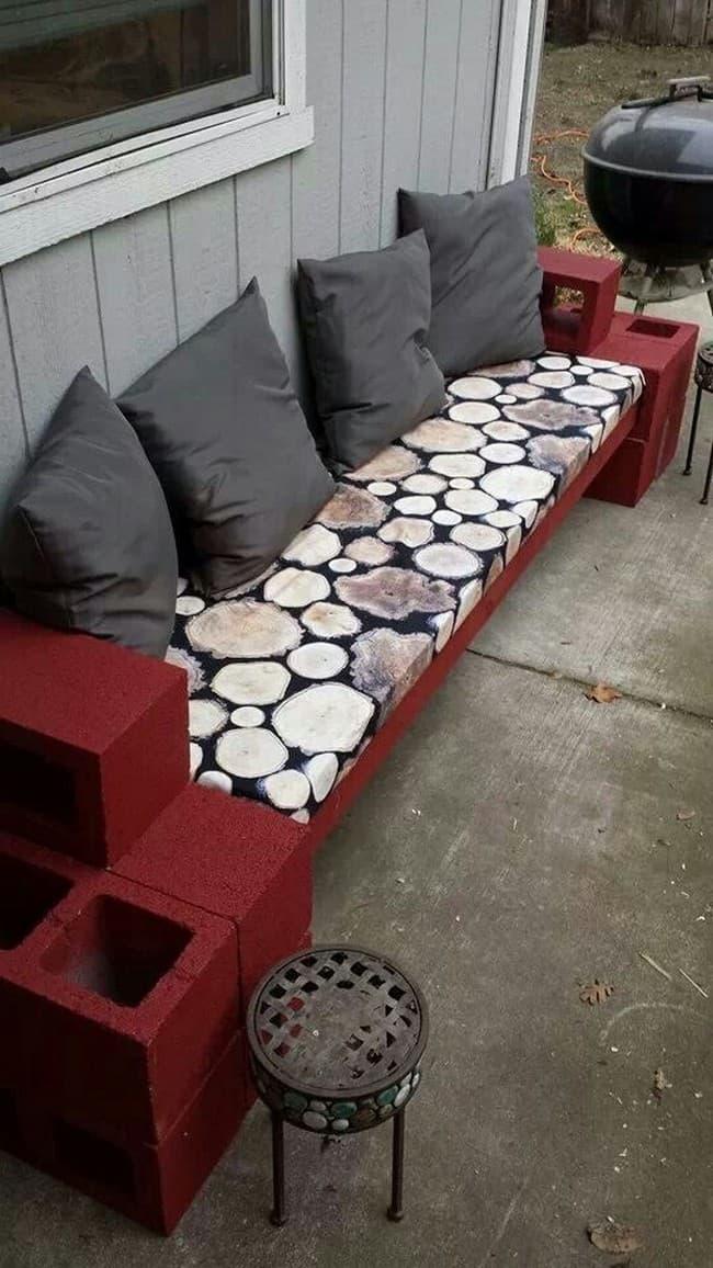 идеи применения шлакоблока на даче