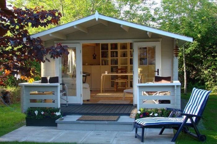 обустройство маленького загородного домика