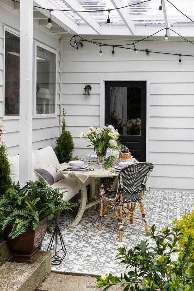 обустройство двора своего дома
