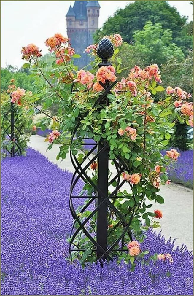 опора для цветов