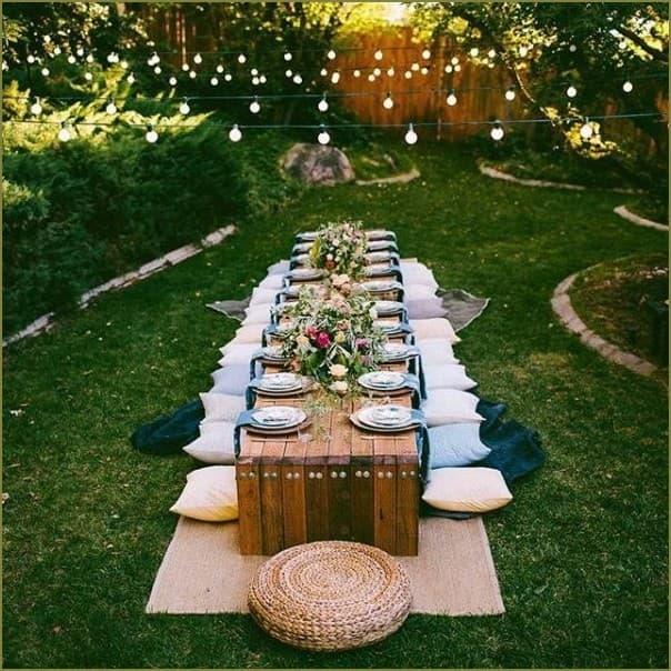 пикник на даче