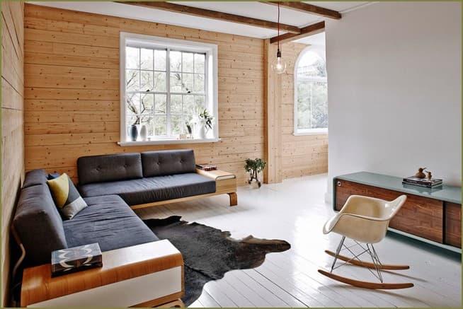 дизайн интерьера прихожей в загородном доме