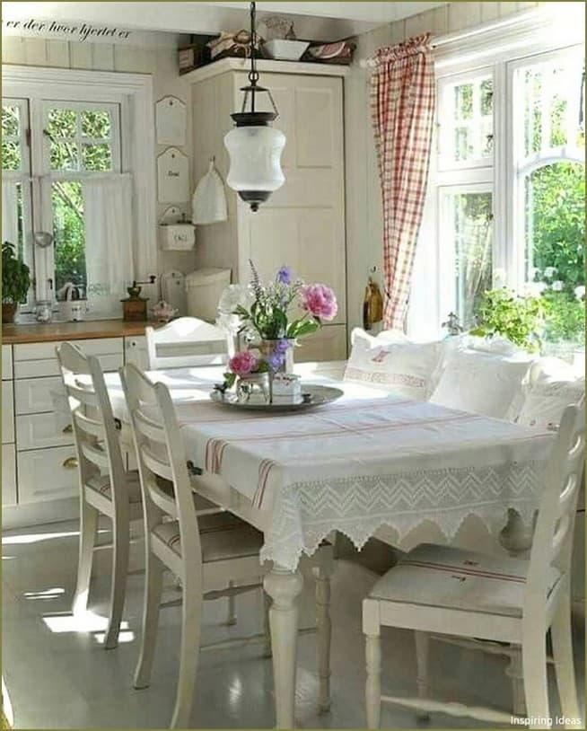 дизайн интерьера столовой на даче