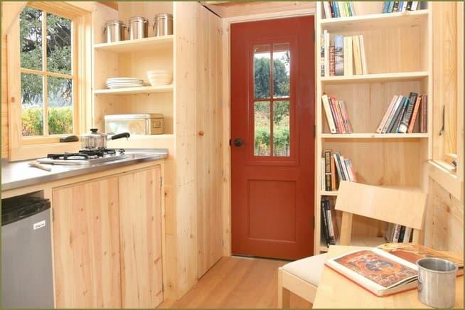 дизайн кухни садового домика