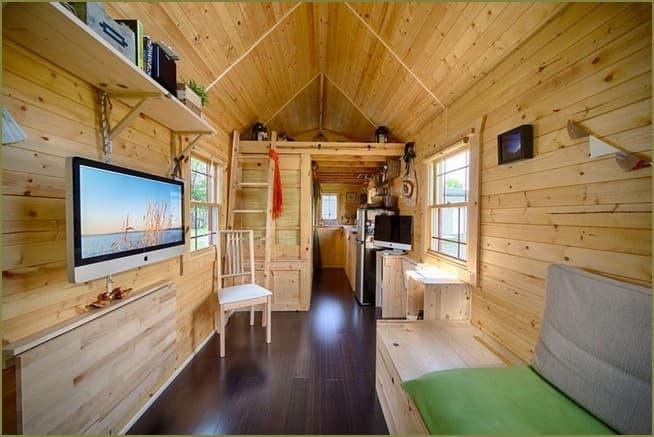 дизайн интерьера маленький частный дом