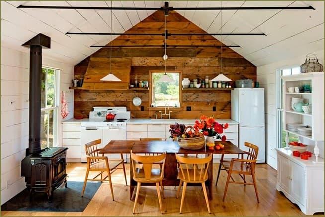 дизайн интерьера столовой в частном доме