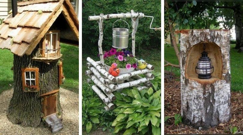 украшение дачного сада