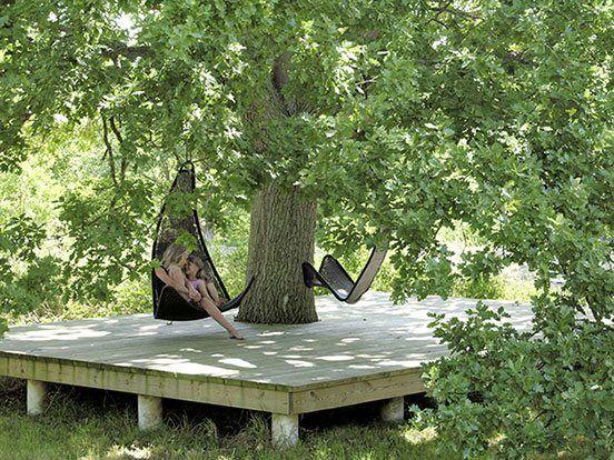 летние террасы в частном доме