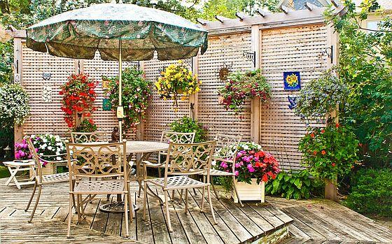 идеи для террасы в частном доме