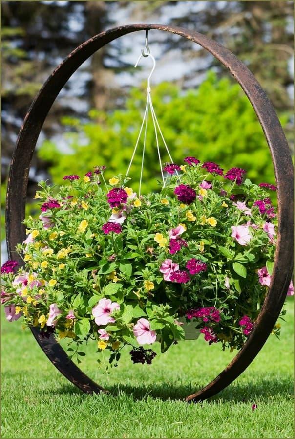 садовый вазон своими руками