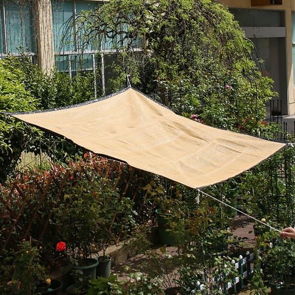 создание тени на огороде