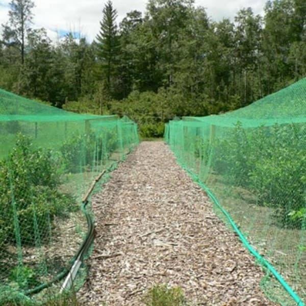 затеняющая сетка для защиты огорода