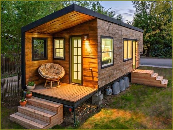 Креативные домики для дачи