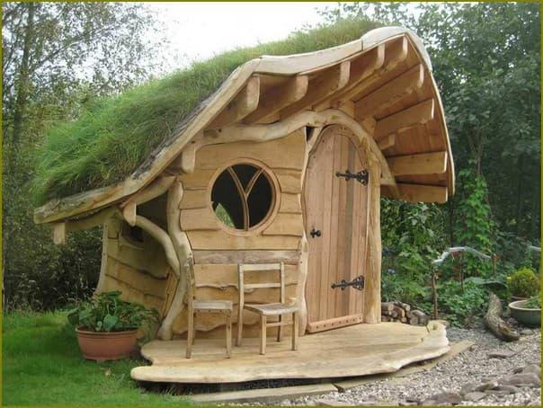 Сказочный домик для дачи