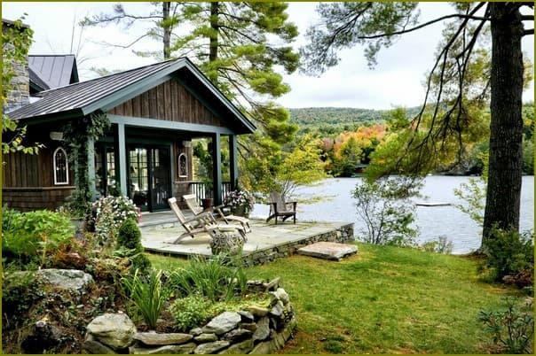 Уютный домик в лесу