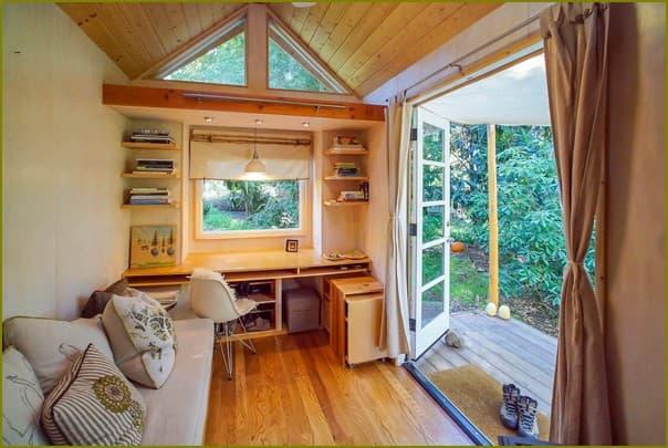 Маленькие уютные домики внутри