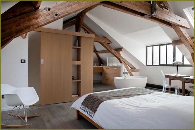 дизайн мансардного этажа в частном доме