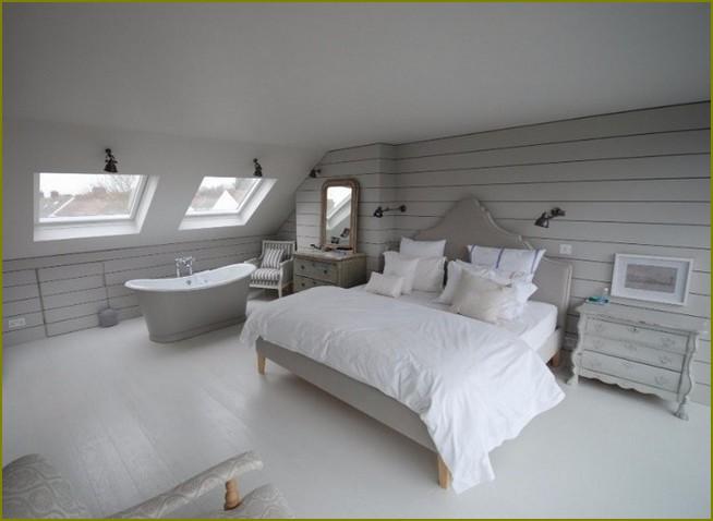 дизайн мансарды интерьера в частном доме