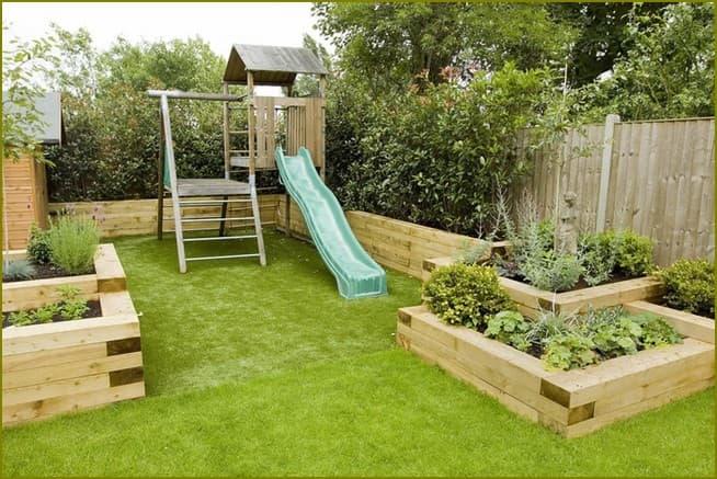 Дизайнерские решения для сада