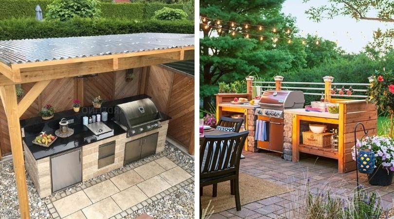 летние уличные кухни