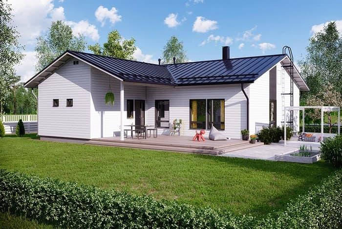 современный красивый дом