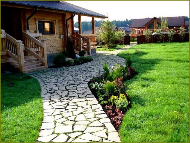 Дорожки для газона и лужайки
