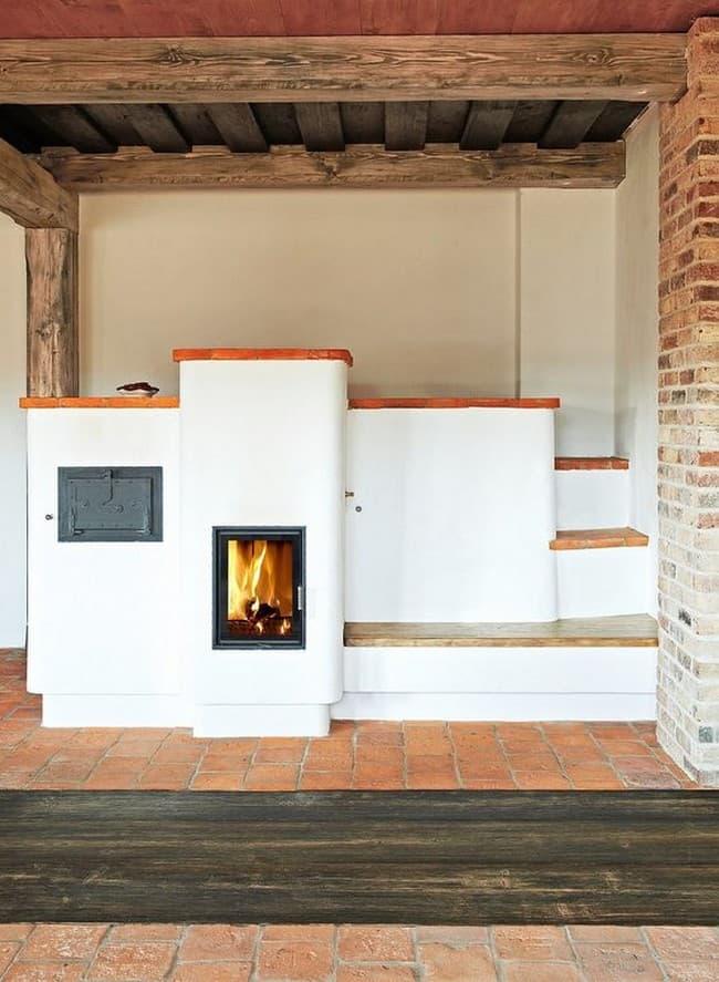 Теплоемкая печь для дома